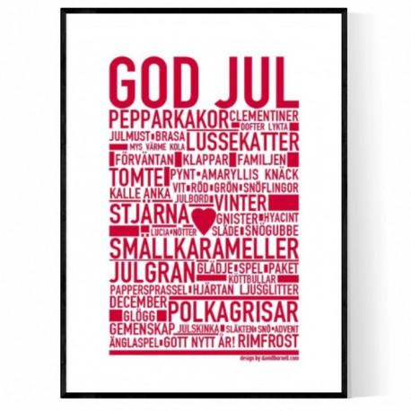 God Jul Poster