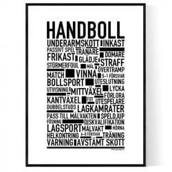 Handboll Poster