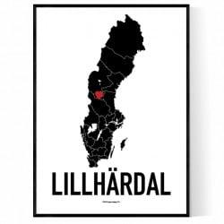 Lillhärdal Heart Poster