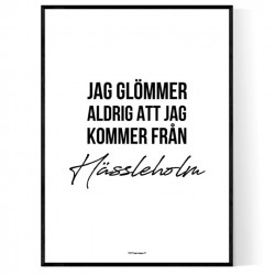 Från Hässleholm