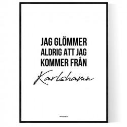Från Karlshamn