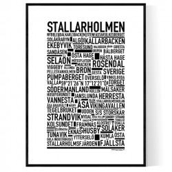 Stallarholmen Poster