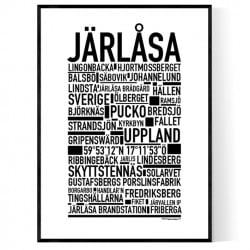 Järlåsa Poster