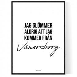 Från Vänersborg