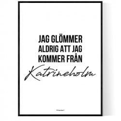 Från Katrineholm