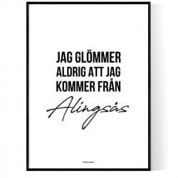 Från Alingsås