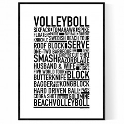 Volleyboll Poster