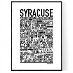 Syracuse NY Poster