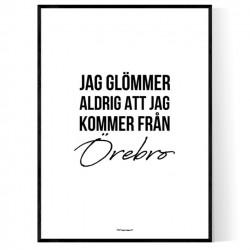 Från Örebro