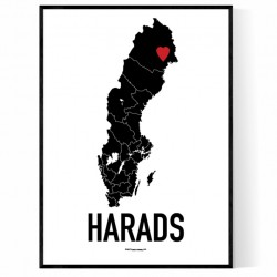 Harads Heart Poster