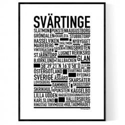 Svärtinge Poster
