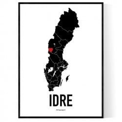 Idre Heart Poster