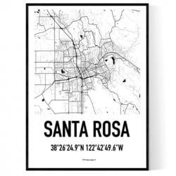 Santa Rosa Karta