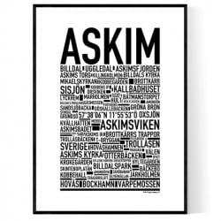 Askim Poster