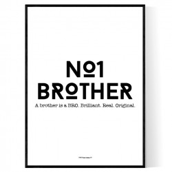 No1 Brother Poster