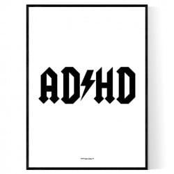 Adhd Flash Poster