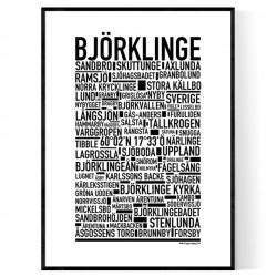 Björklinge Poster