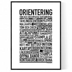Orientering Poster