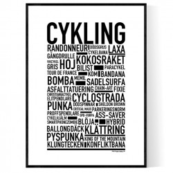 Cykling Poster