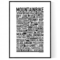 Mountainbike Poster