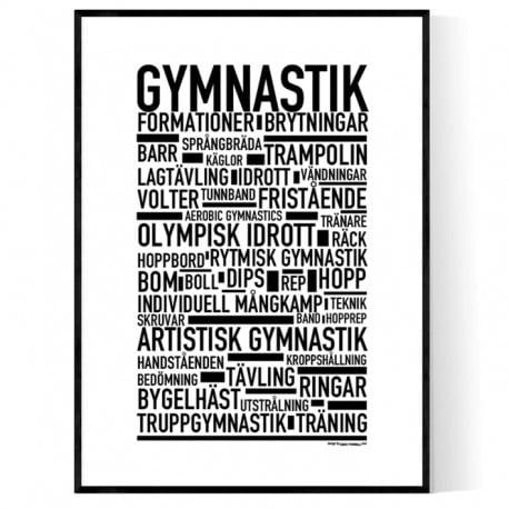 Gymnastik Poster