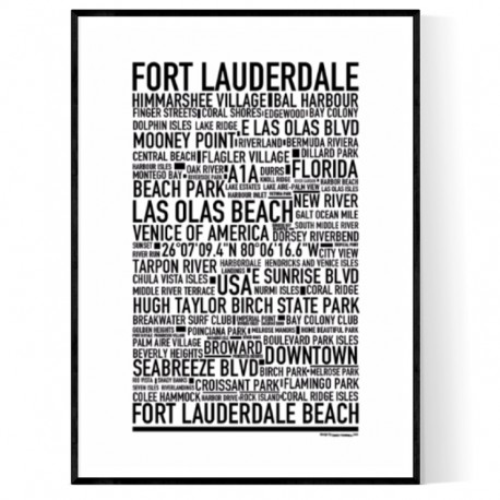 Fort Lauderdale Poster