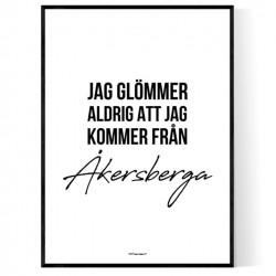 Från Åkersberga