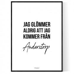 Från Anderstorp