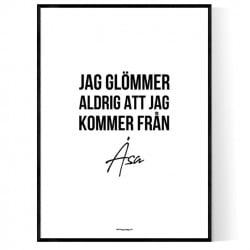 Från Åsa