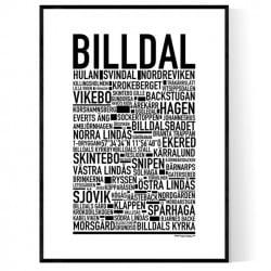 Billdal Poster