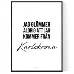 Från Karlskrona