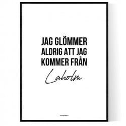 Från Laholm