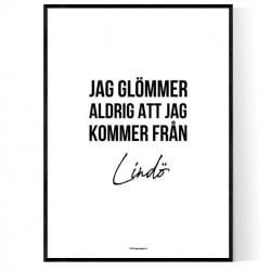 Från Lindö