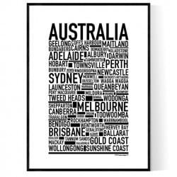 Australien Poster