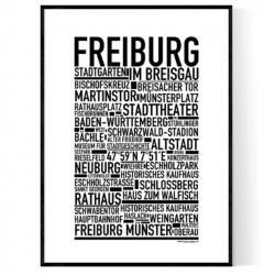 Freiburg Poster