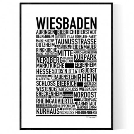 Wiesbaden Poster
