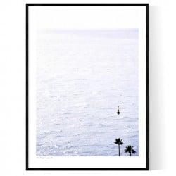 Monaco Ocean Poster