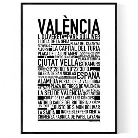Valencia Poster