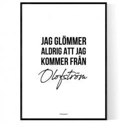 Från Olofström
