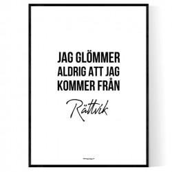 Från Rättvik