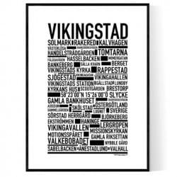 Vikingstad Poster