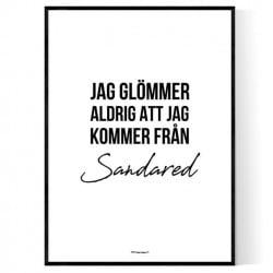 Från Sandared