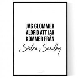 Från Södra Sandby