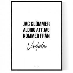 Från Vaxholm