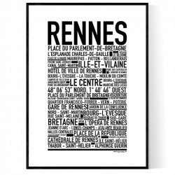 Rennes Poster