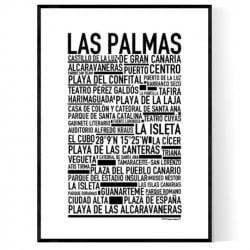 Las Palmas Poster