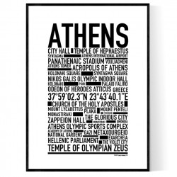 Athen Poster
