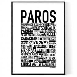 Paros Poster
