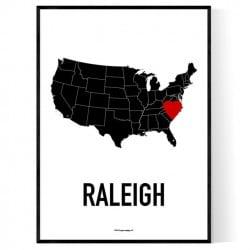 Heart Raleigh