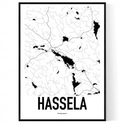 Hassela Karta Poster